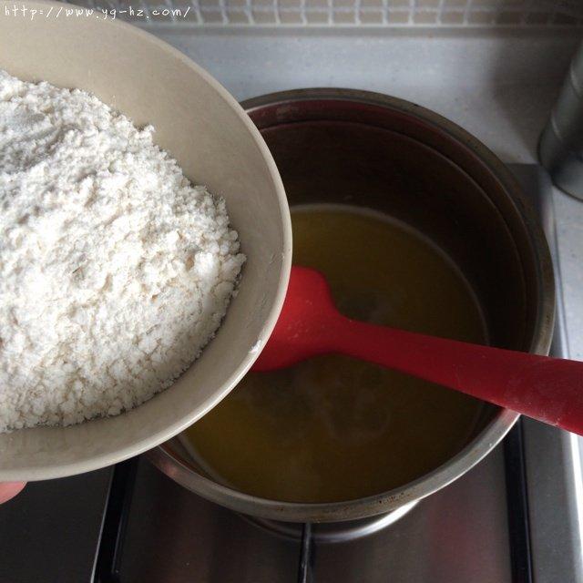 卡仕达奶油泡芙的做法 步骤2