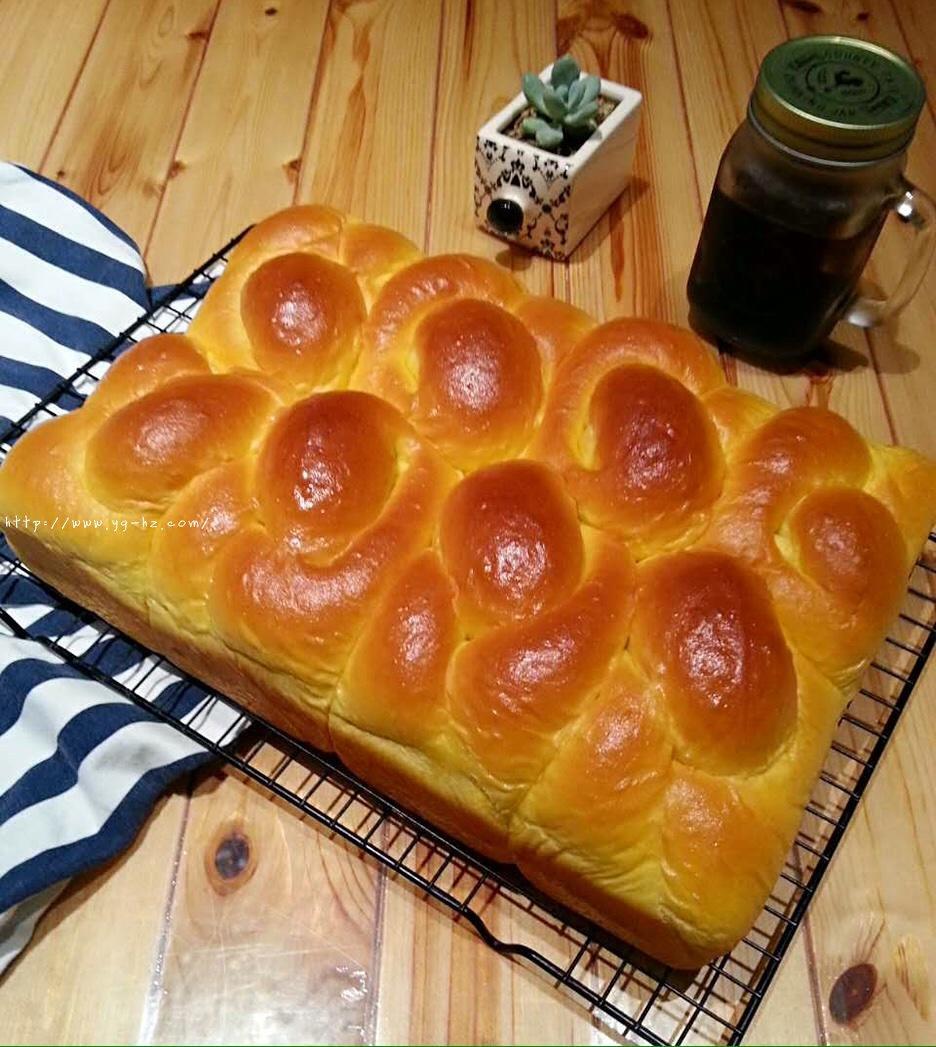 南瓜老式面包的做法 步骤4