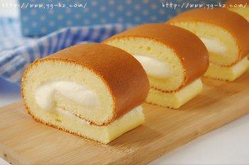 好吃才是王道:老酸奶烫面蛋糕卷