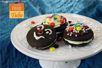 巧克力无比派 Whoopies的做