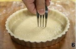 蓝莓酱乳酪派的做法 步骤6
