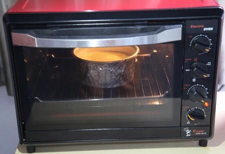 轻乳酪芝士蛋糕6寸#皮黑森林#的做法 步骤11