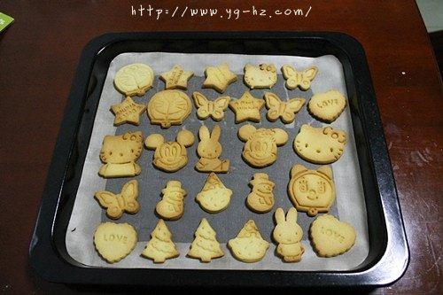 黄油动物饼干—送给小朋友的生日礼物的做法 步骤9