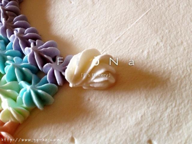 详细的裱花教程--彩虹蛋糕的做法 步骤24