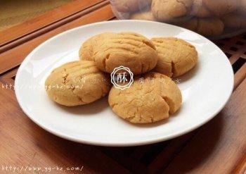 花生酱小小酥——好吃到迎风飘泪的饼干