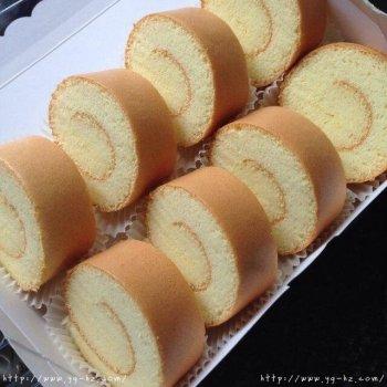 超完美的原味蛋糕卷