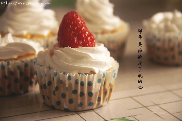 淡奶油纸杯蛋糕的做法 步骤9