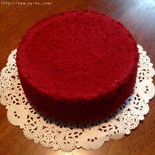 暖心红丝绒蛋糕[6寸绵软戚风版 ]的做法