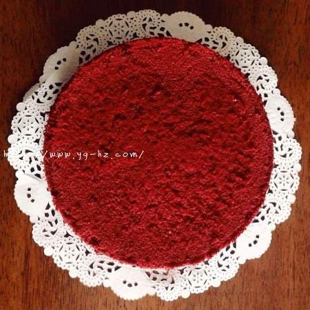 暖心红丝绒蛋糕[6寸绵软戚风版 ]的做法 步骤15