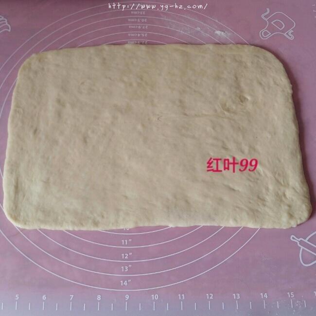 椰蓉奶棒面包的做法 步骤5
