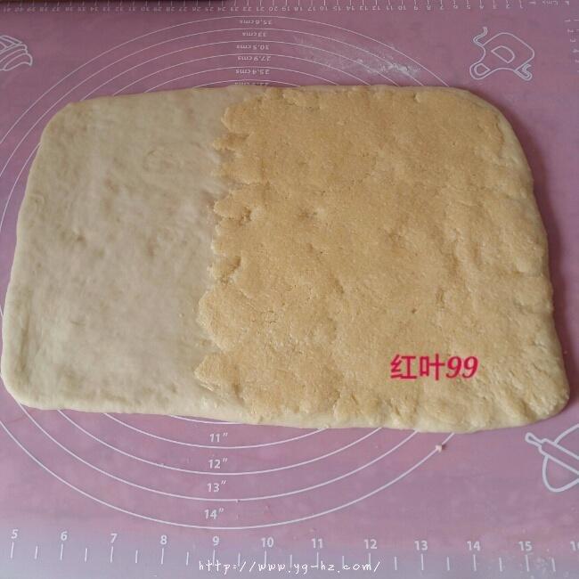 椰蓉奶棒面包的做法 步骤6