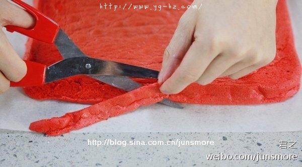 让人惊艳的红丝绒蛋糕卷
