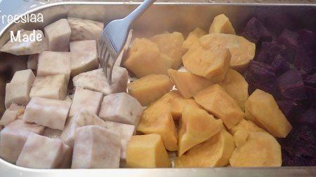 椰汁芋圆的做法 步骤3