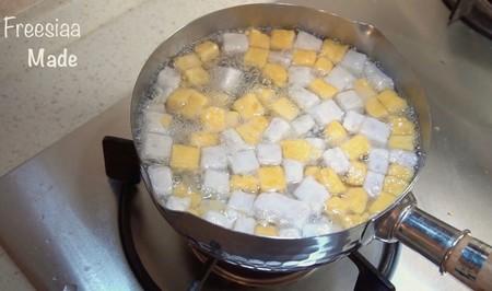 椰汁芋圆的做法 步骤10