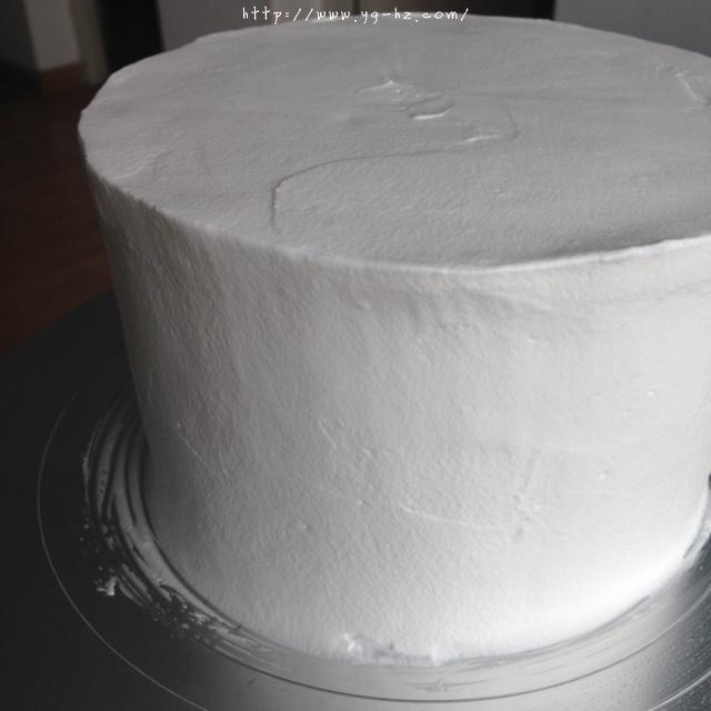 裱花蛋糕之抹面的做法 步骤8