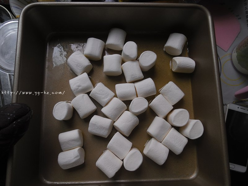 烤箱版牛轧糖的做法 步骤4