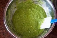 抹茶豆沙小面包(无油脂)的做法 步骤3
