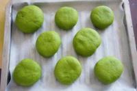 抹茶豆沙小面包(无油脂)的做法 步骤16