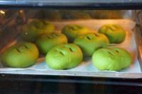 抹茶豆沙小面包(无油脂)的做法 步骤20