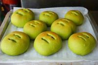 抹茶豆沙小面包(无油脂)的做法 步骤21