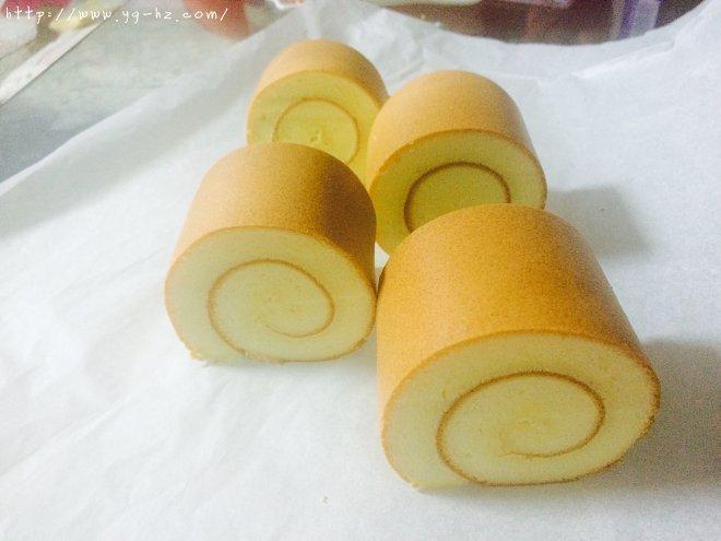 原味蛋糕卷(后蛋法)的做法