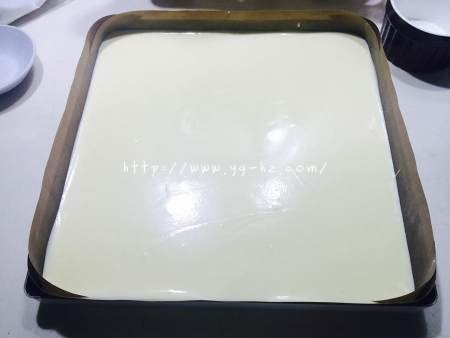原味蛋糕卷(后蛋法)的做法 步骤5
