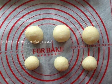 可爱小熊面包的做法 步骤6