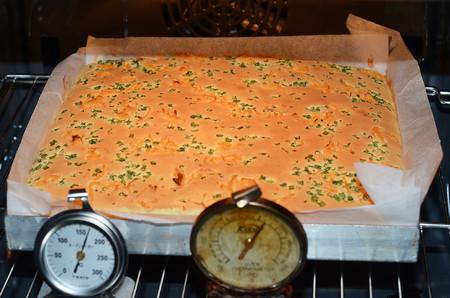香葱肉松肥蛋糕卷~的做法 步骤9