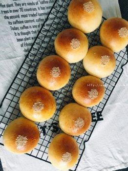 黄小米面包的做法