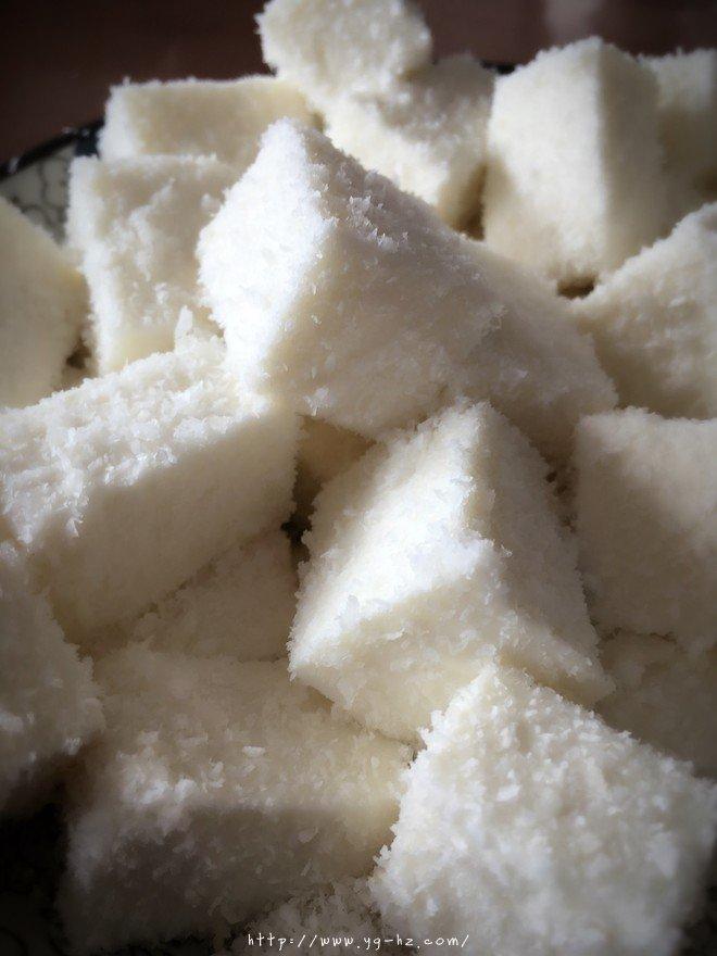 椰奶冻(雪花膏)吉利丁粉版的做法