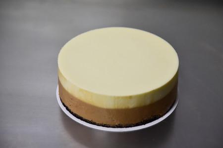 咖啡双层冻芝士蛋糕的做法 步骤10