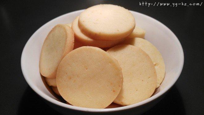 超级简单的柠檬饼干(君之版)的做法