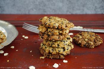 减脂暖宫好伙伴:红糖燕麦饼干的做法