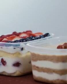 水果奶油盒子蛋糕&木糠盒子蛋糕 | 视频