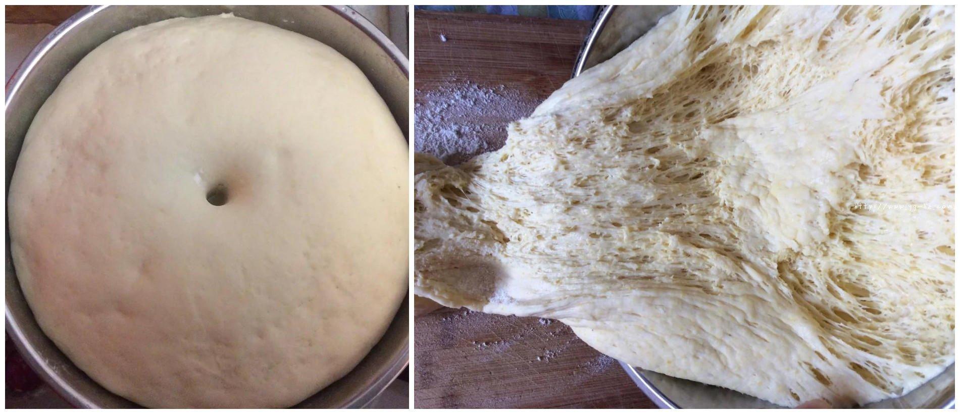 淡奶油软面包的做法 步骤2