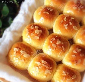 淡奶油软面包的做法