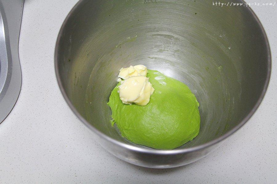青蛙挤挤小面包的做法 步骤2