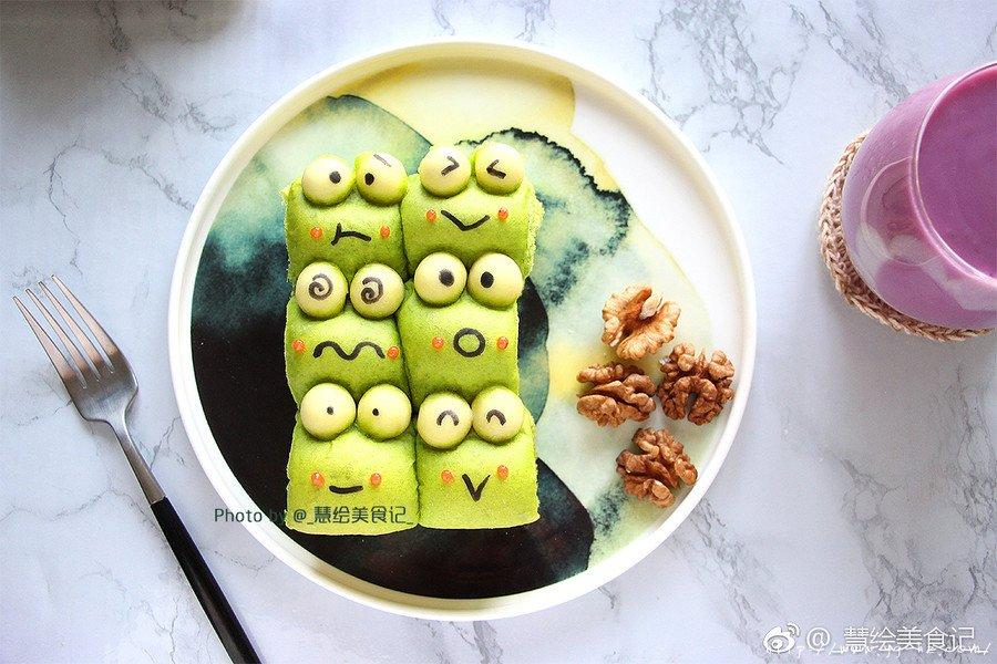 青蛙挤挤小面包的做法 步骤11