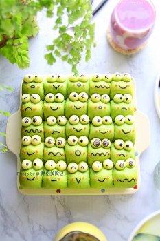 青蛙挤挤小面包的做法