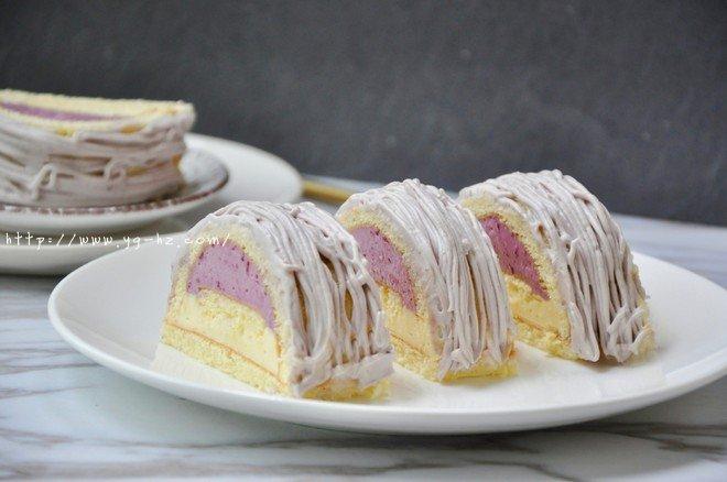 【视频】葡萄朗姆酒 慕斯蛋糕的做法