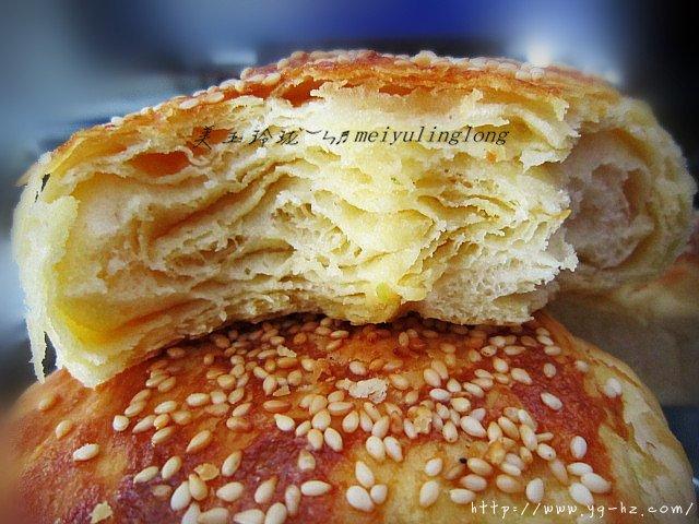 油盐千层烧饼的做法 步骤10