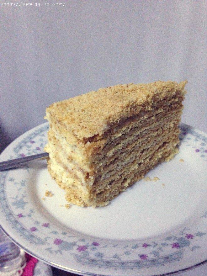 俄罗斯蜂蜜蛋糕   千层蛋糕【又名提拉米苏】的做法