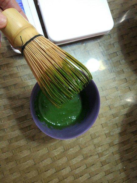 抹茶蜜豆蛋糕卷的做法 步骤1