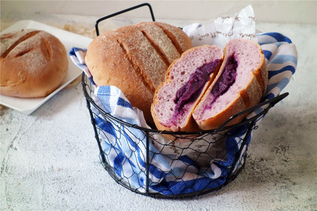 蜂蜜紫薯软欧的做法 步骤17