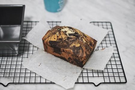 法国总统烘焙学院-香草巧克力大理石磅蛋糕的做法 步骤12
