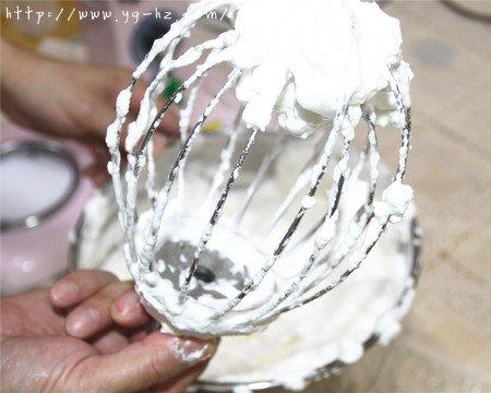 8寸完美戚风蛋糕,超详细教程的做法 步骤10