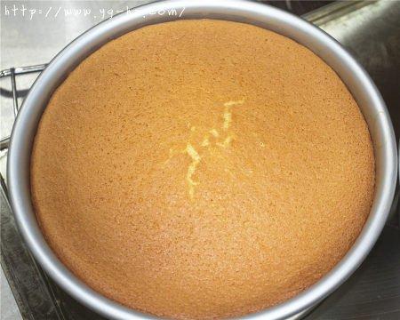 8寸完美戚风蛋糕,超详细教程的做法 步骤17