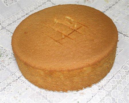 8寸完美戚风蛋糕,超详细教程的做法 步骤18
