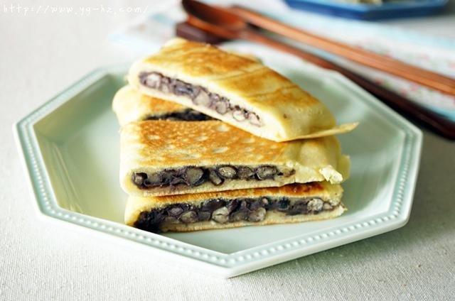 平底锅版蜜红豆饼的做法