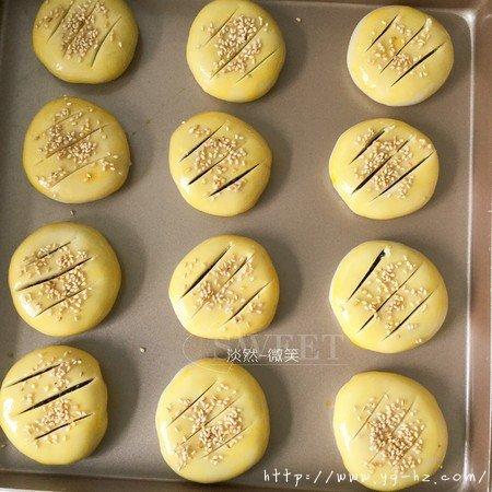 紫米馅老婆饼超快手(不用出膜不用醒面)的做法 步骤17